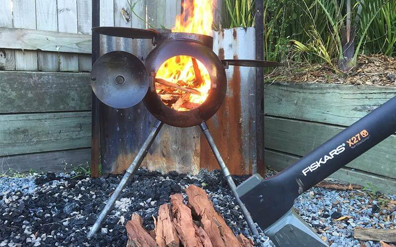 How to light a fire in your Ozpig