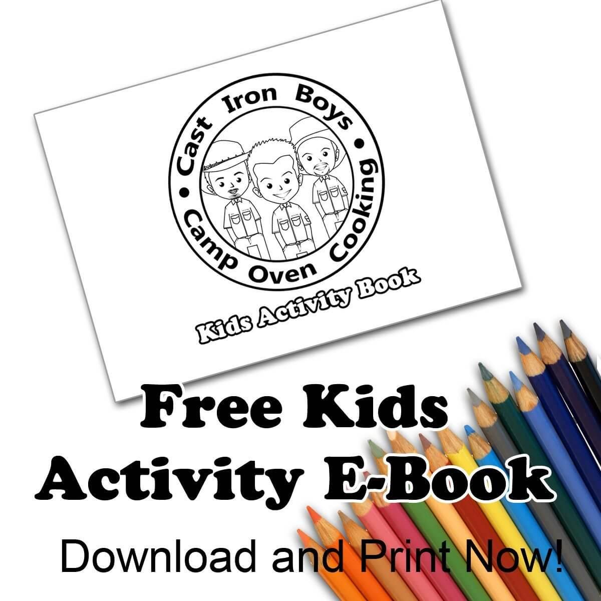 Kids Free Printable Activity E-Book
