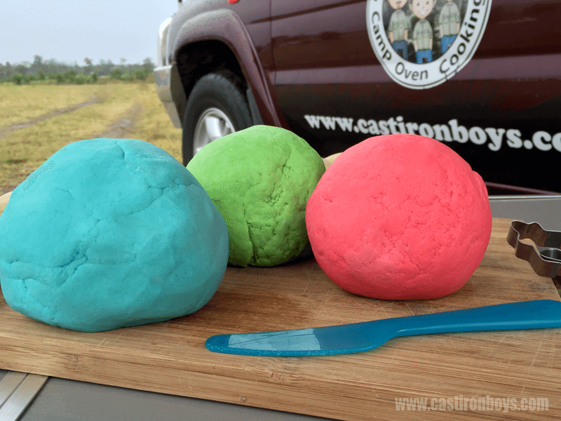 How to Make Play Doh | Kids Camping Activity