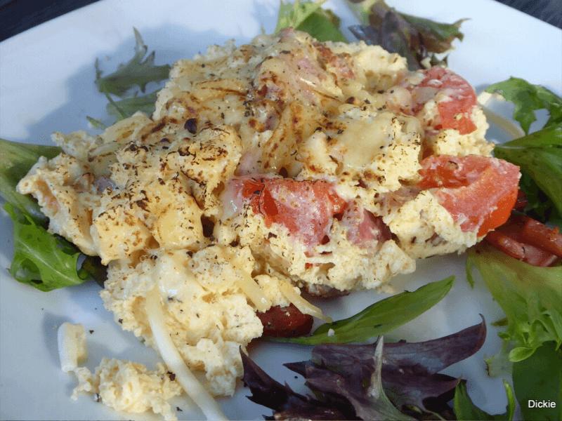 Easy Scrambled Omelette