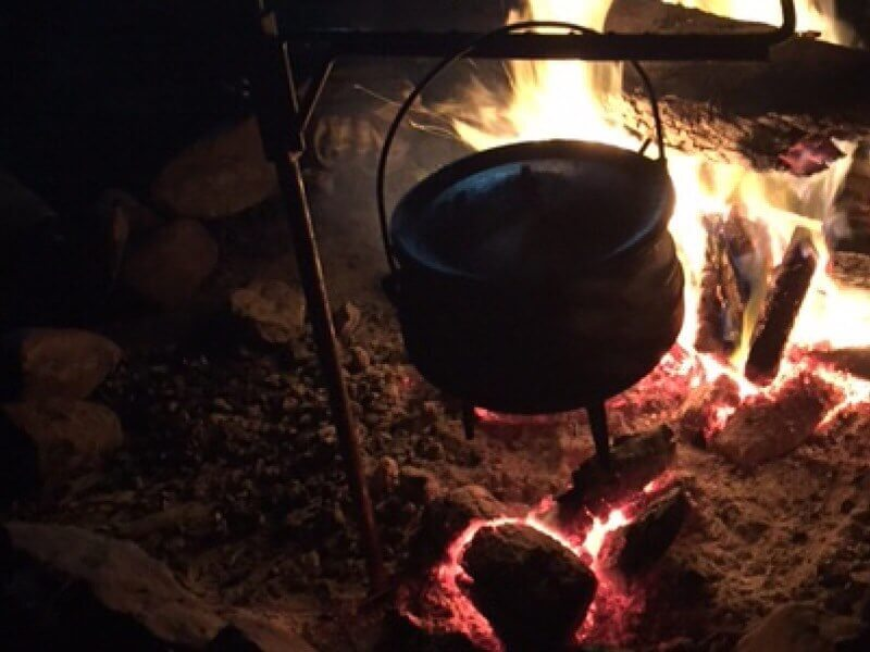 Oxtail Red Wine Potjie