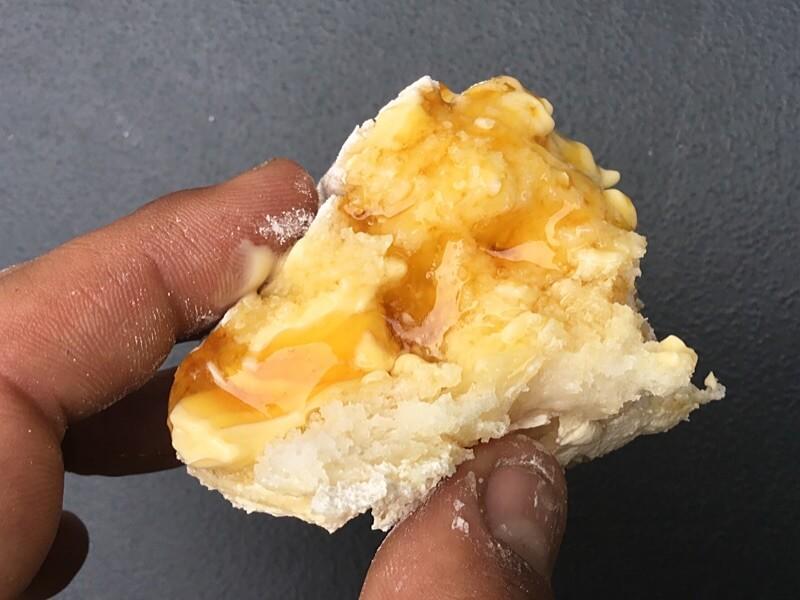 Gluten-Free Damper in the Camp Oven