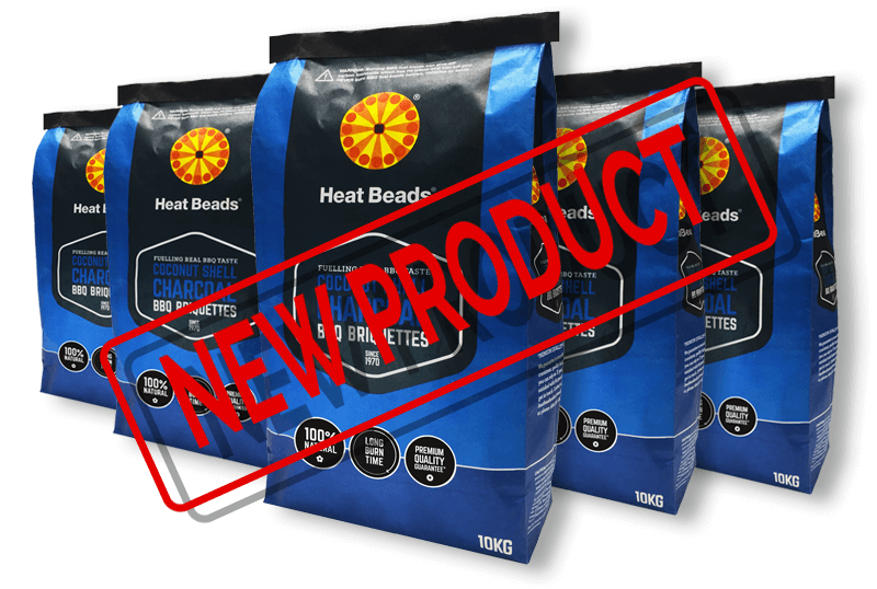 Heat Beads® Coconut Shell Charcoal Briquettes   New Product!