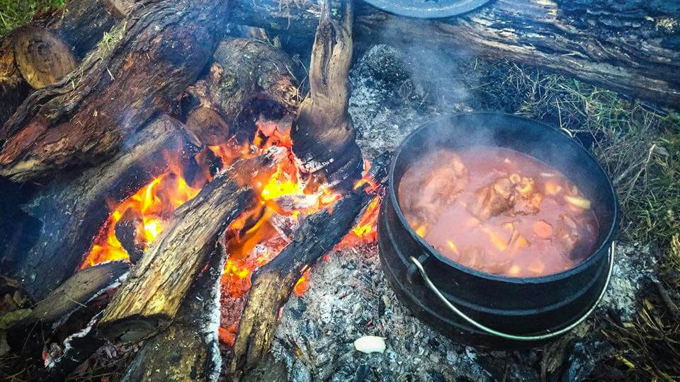 Braised Lamb Shanks with Garlic and Port Wine