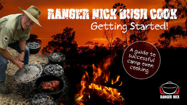 Ranger Nick's guide to camp oven cooking DVD
