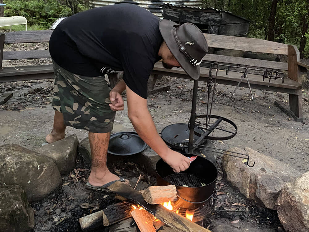 Talking Camp Oven Cooking with Jamie Hazelden | The Camp Oven Cook